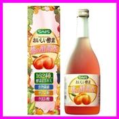 桃の酵素水